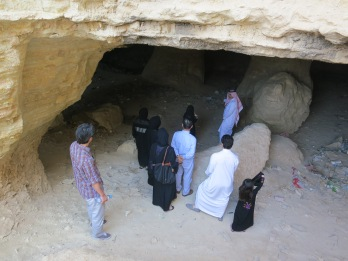 Inside the Caves